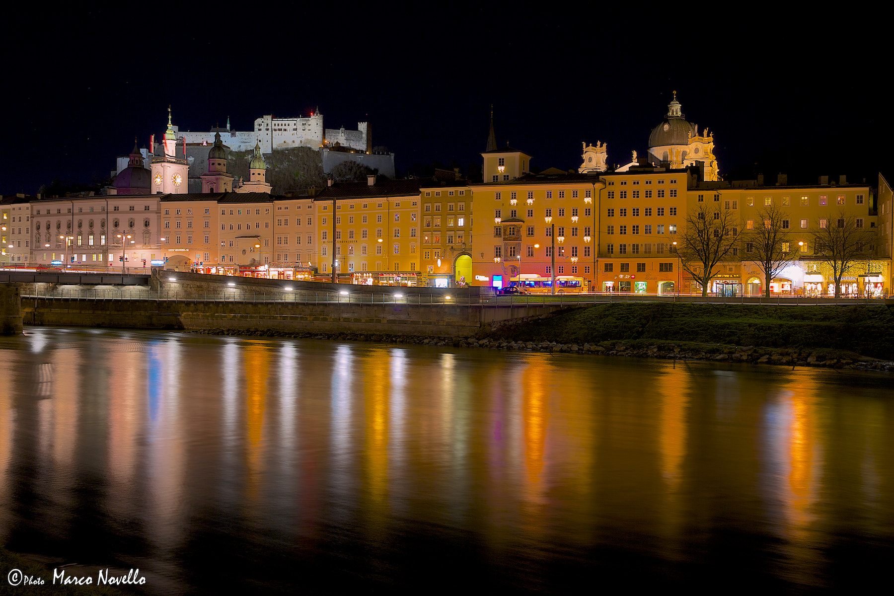 Photograph Salzburg by night by Marco Novello on 500px