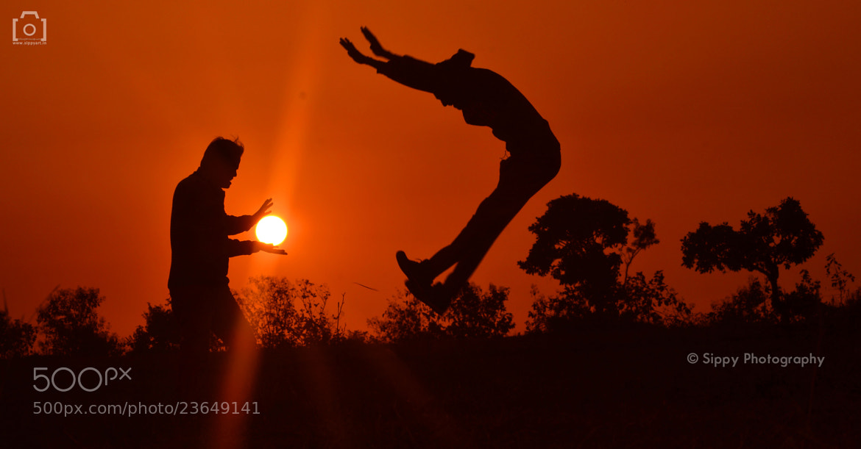 Photograph Creative Sun Fight by Vineet Pal on 500px
