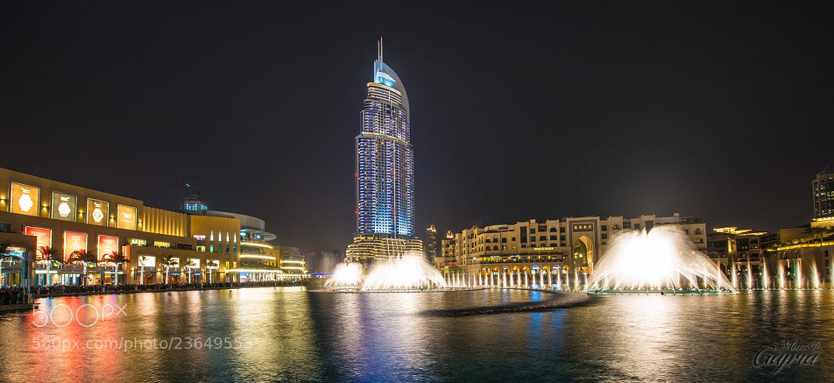 Photograph The Center of Dubai by Manish Gajria on 500px