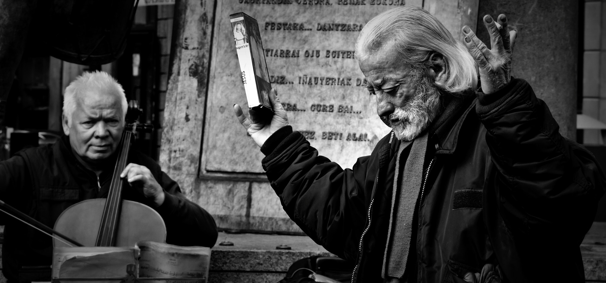Photograph playing and praying while waiting for the end of the world (titanic) by ovos photography on 500px