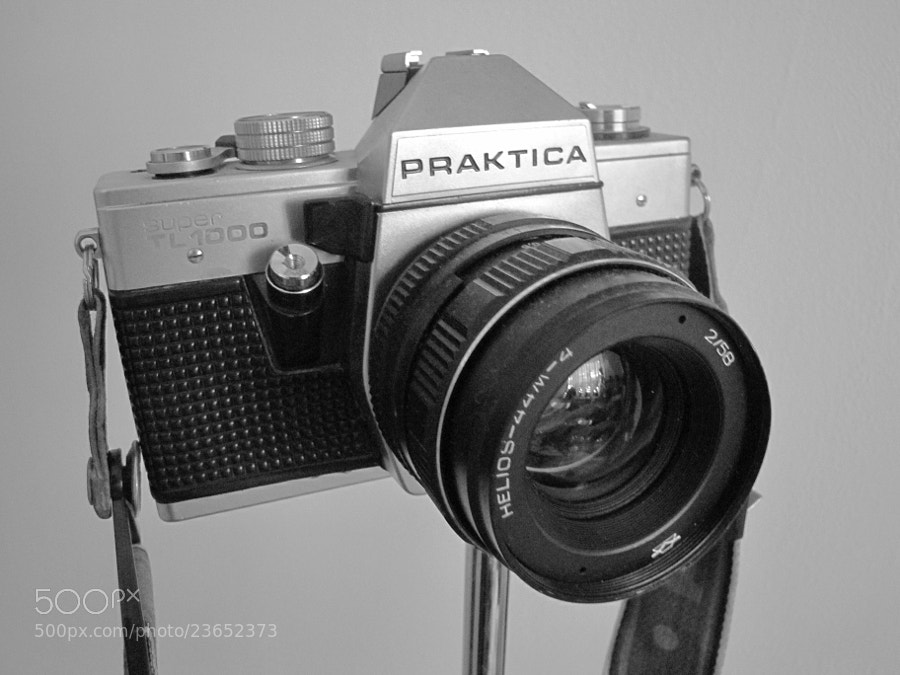Photograph Praktica Super TL 1000 by Rok Kepa on 500px