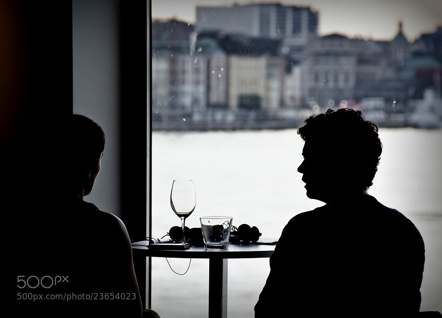 Photograph looking through the window by ovos photography on 500px