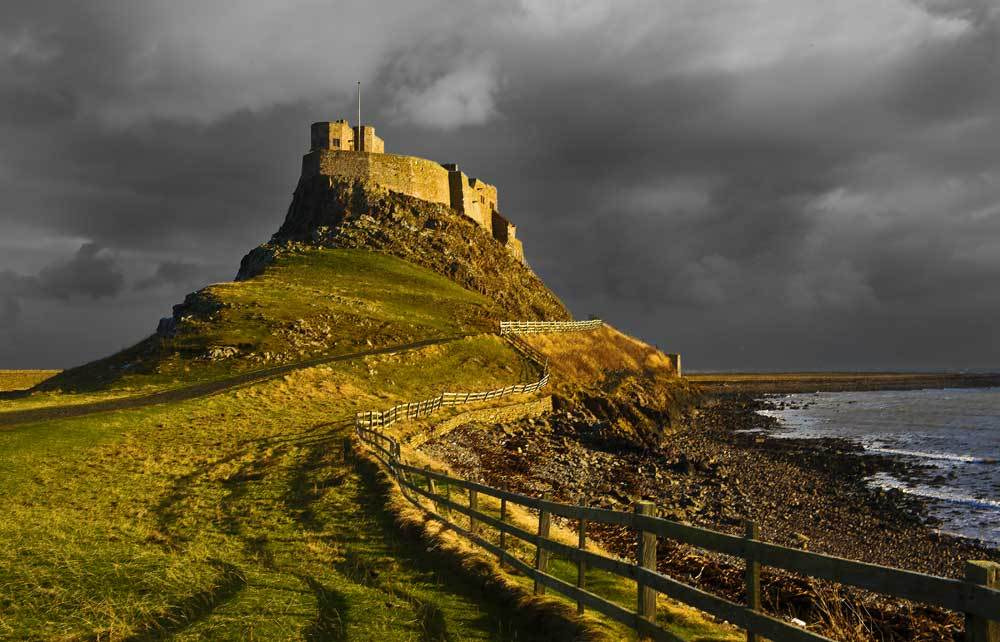 Photograph Lindisfarnes Stormy Sky by Terry Cavner on 500px