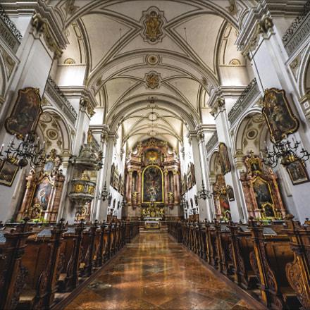 Interior Michaelakirche / Steyr