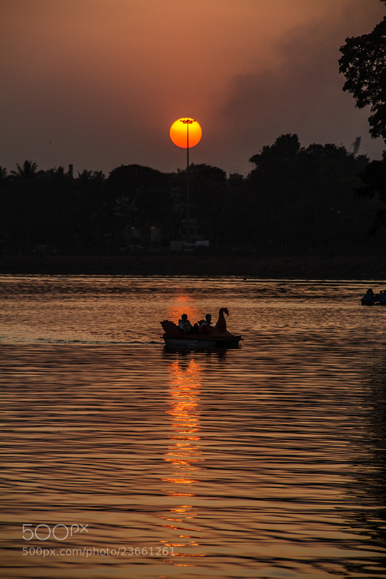 Photograph Sunset at ulsoor lake by Swapnil Sonawane on 500px