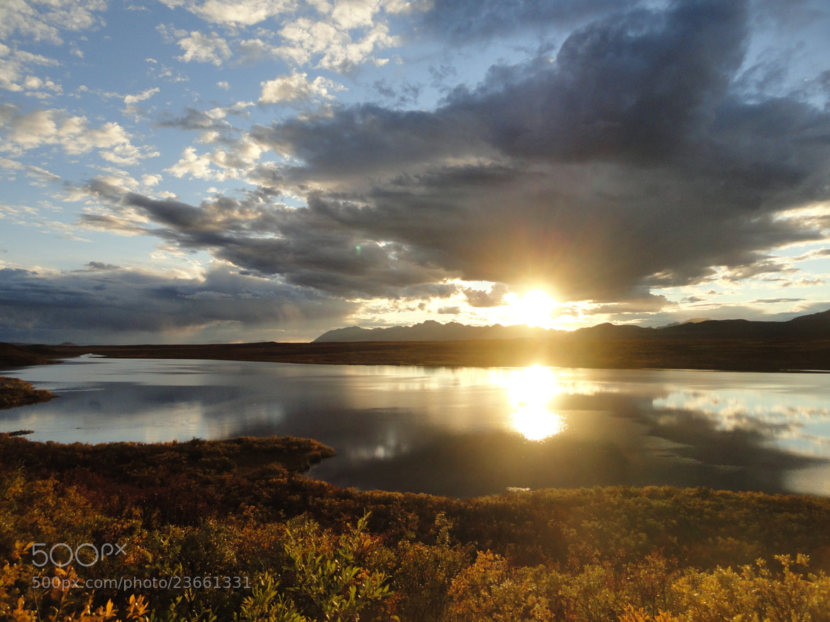 Photograph Alaskan Outback Sunset by JON TJADER on 500px