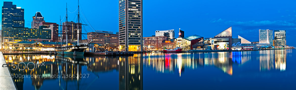 Photograph Baltimore Inner Harbor Panorama by Craig Hudson on 500px
