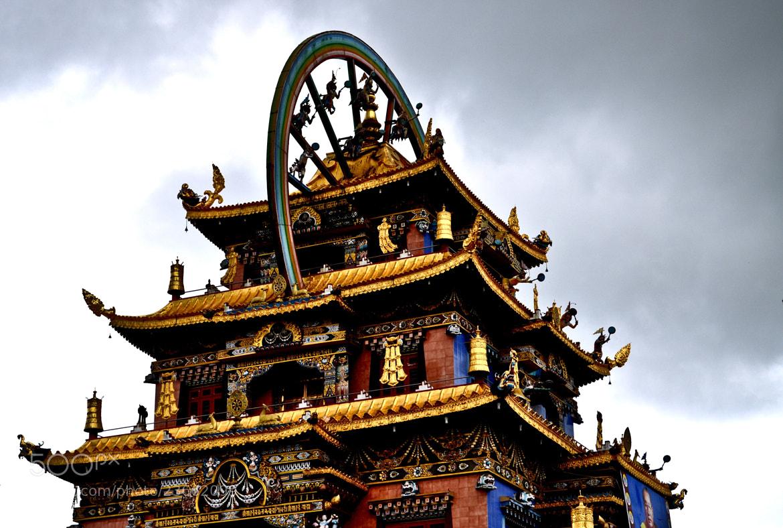 Photograph Tibetian monastery by Chaithanya Holla on 500px