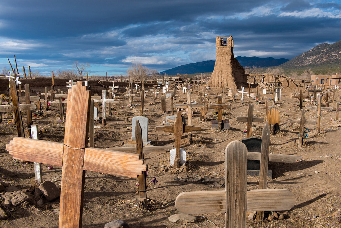Photograph Taos Pueblo Cemetery by Glenn Nagel on 500px