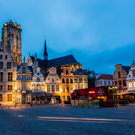 Mechelen, Belgium Blue Hour