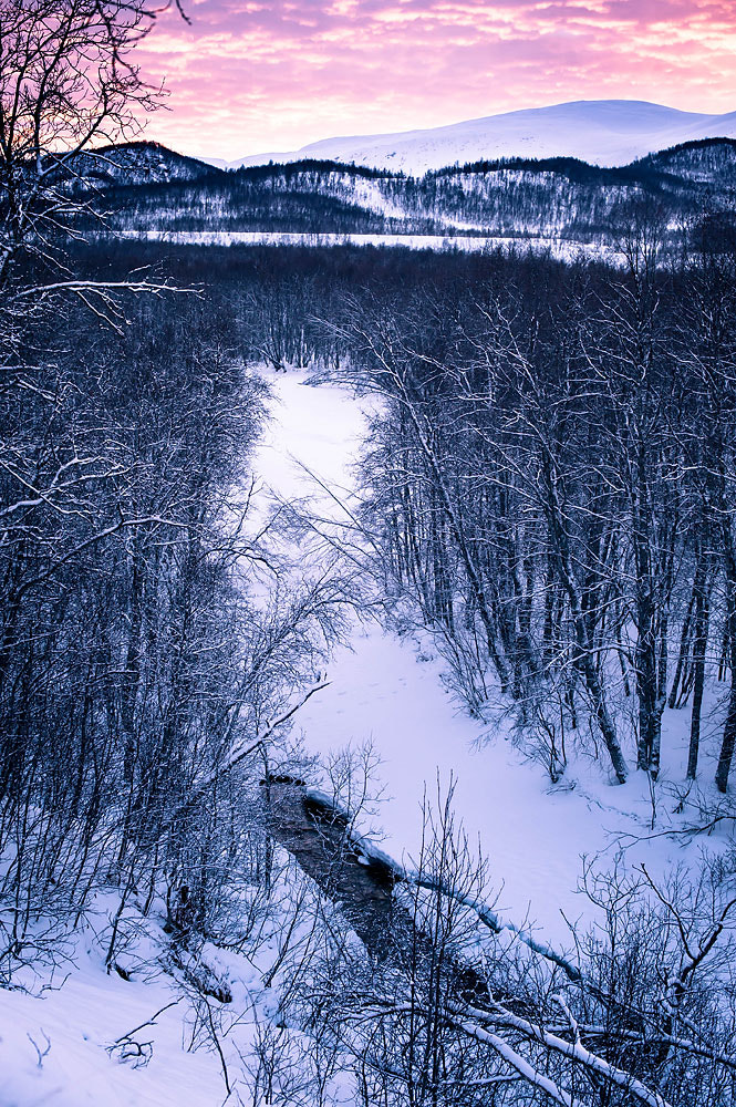 Photograph Cold river by Frode Abrahamsen on 500px