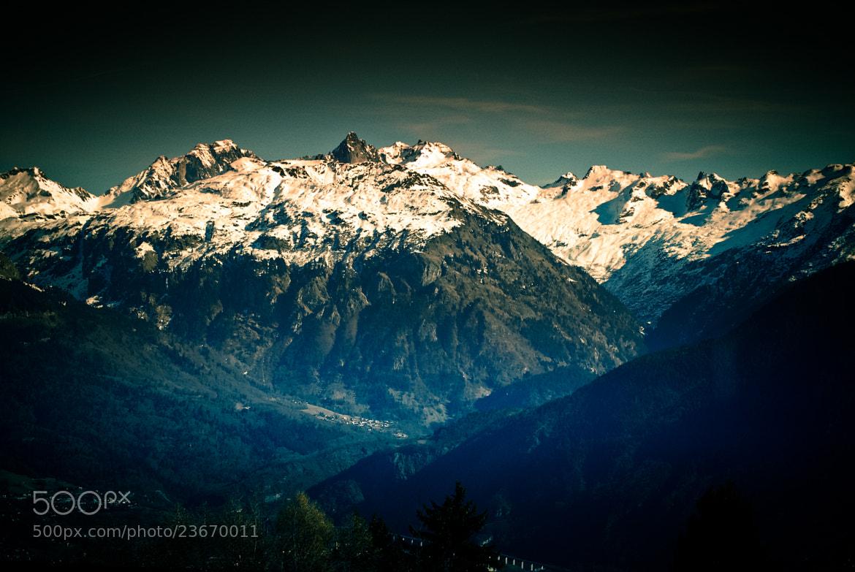 Photograph Vallée du Mont BLANC by Julien REBOULET on 500px