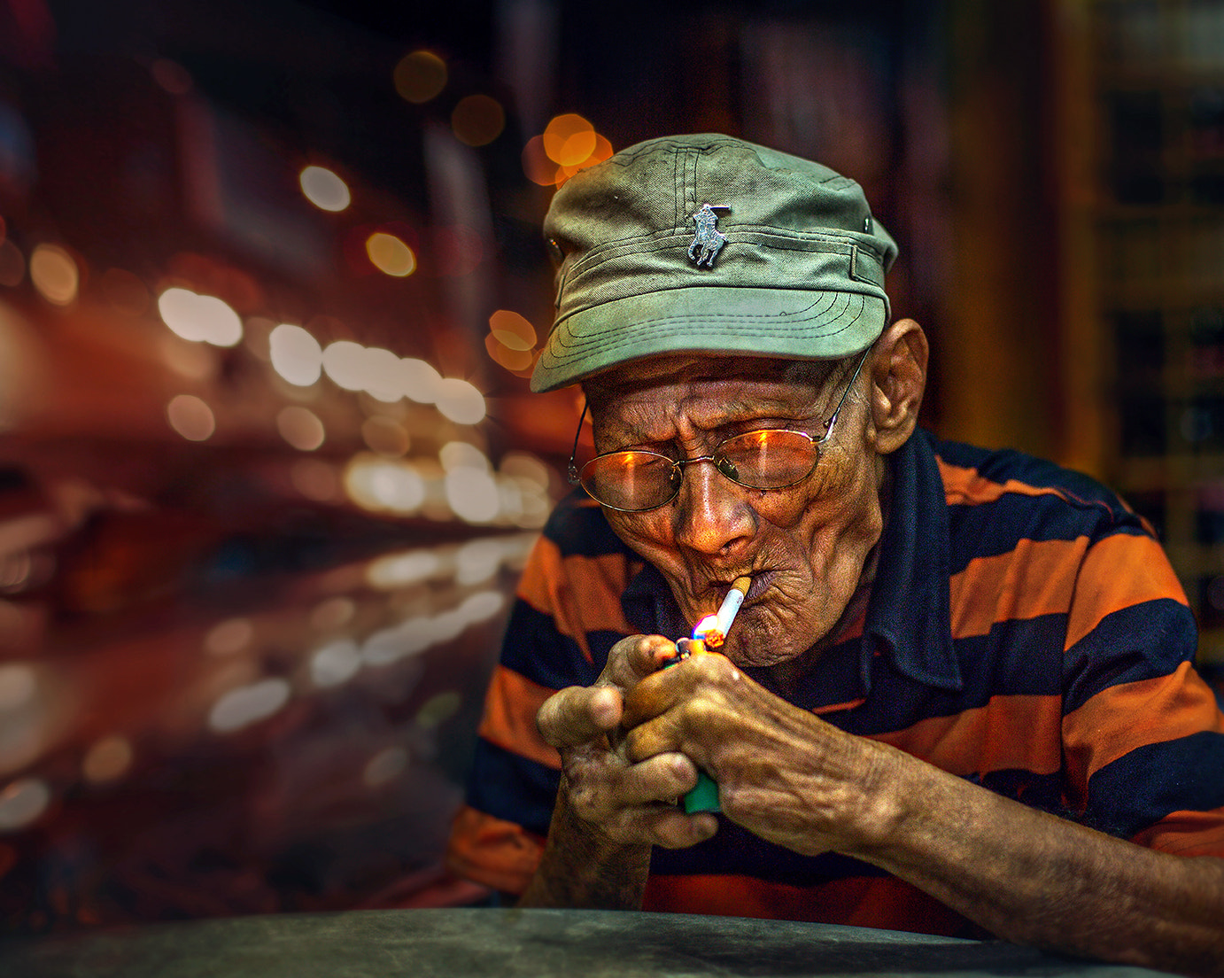 Photograph Light a cigarette... by abe less on 500px