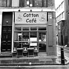 The Cotton Café in Soho, London.