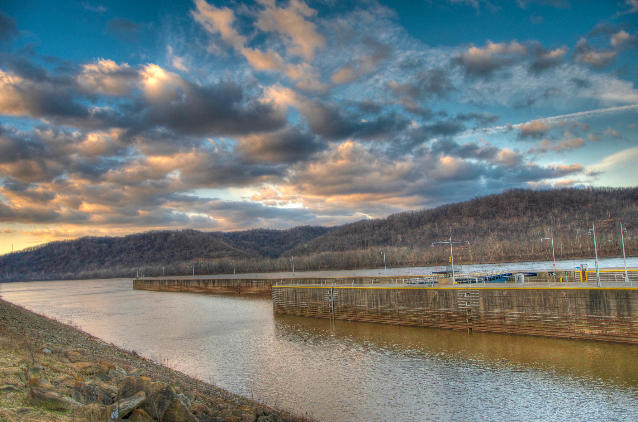 Photograph Dam HDR by Jason Foose on 500px