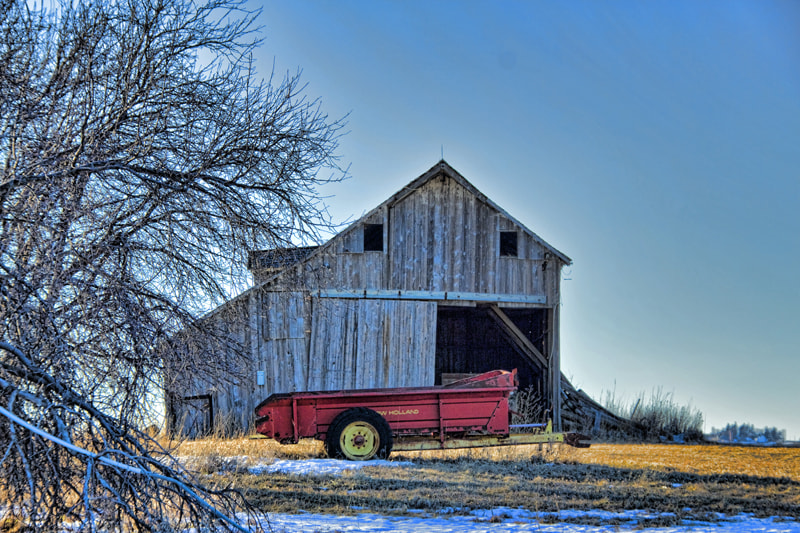 Photograph Carroll County Barn by Robert Wood on 500px