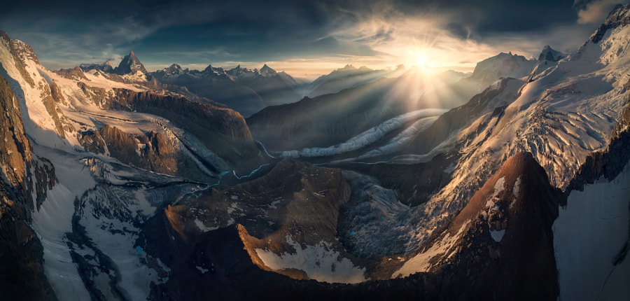 The Alps by Max Rive on 500px.com