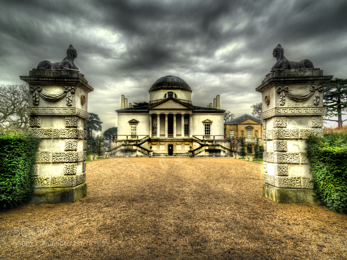 Photograph Chiswick House Front Elevation by Chris Maskell on 500px