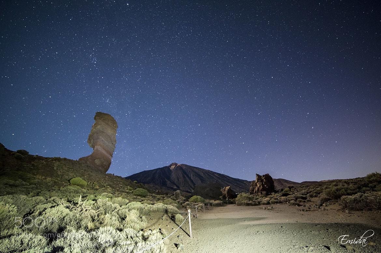 Photograph Teide y Roque Cinchado by Emidai  on 500px