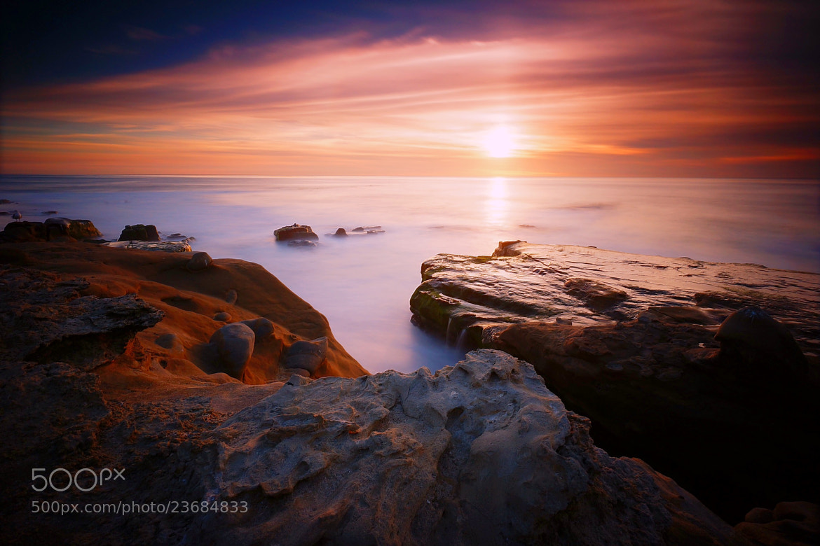 Photograph Windansea Sunset by Nate C on 500px