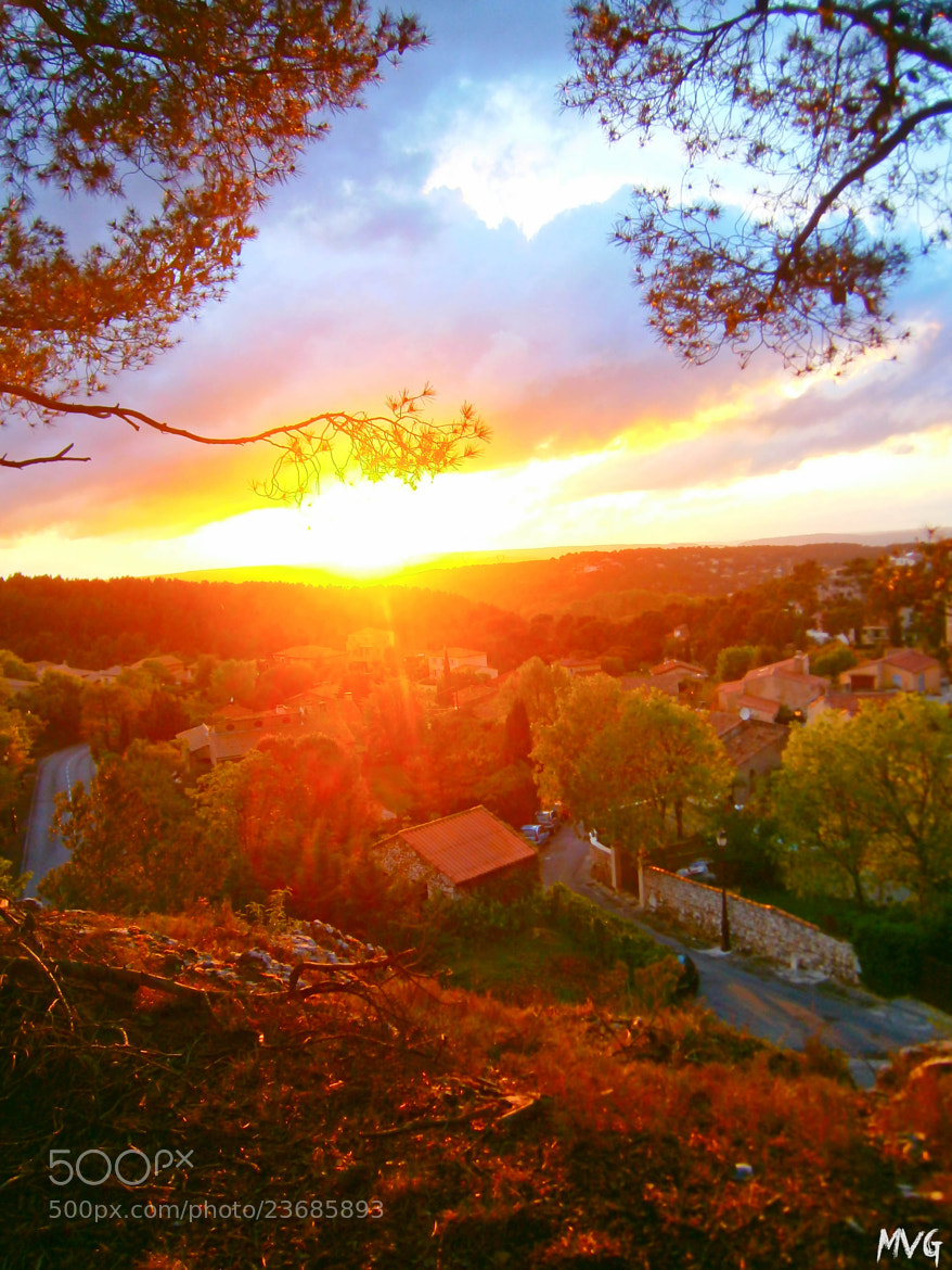 Photograph Sunset in south of France by MVG  on 500px