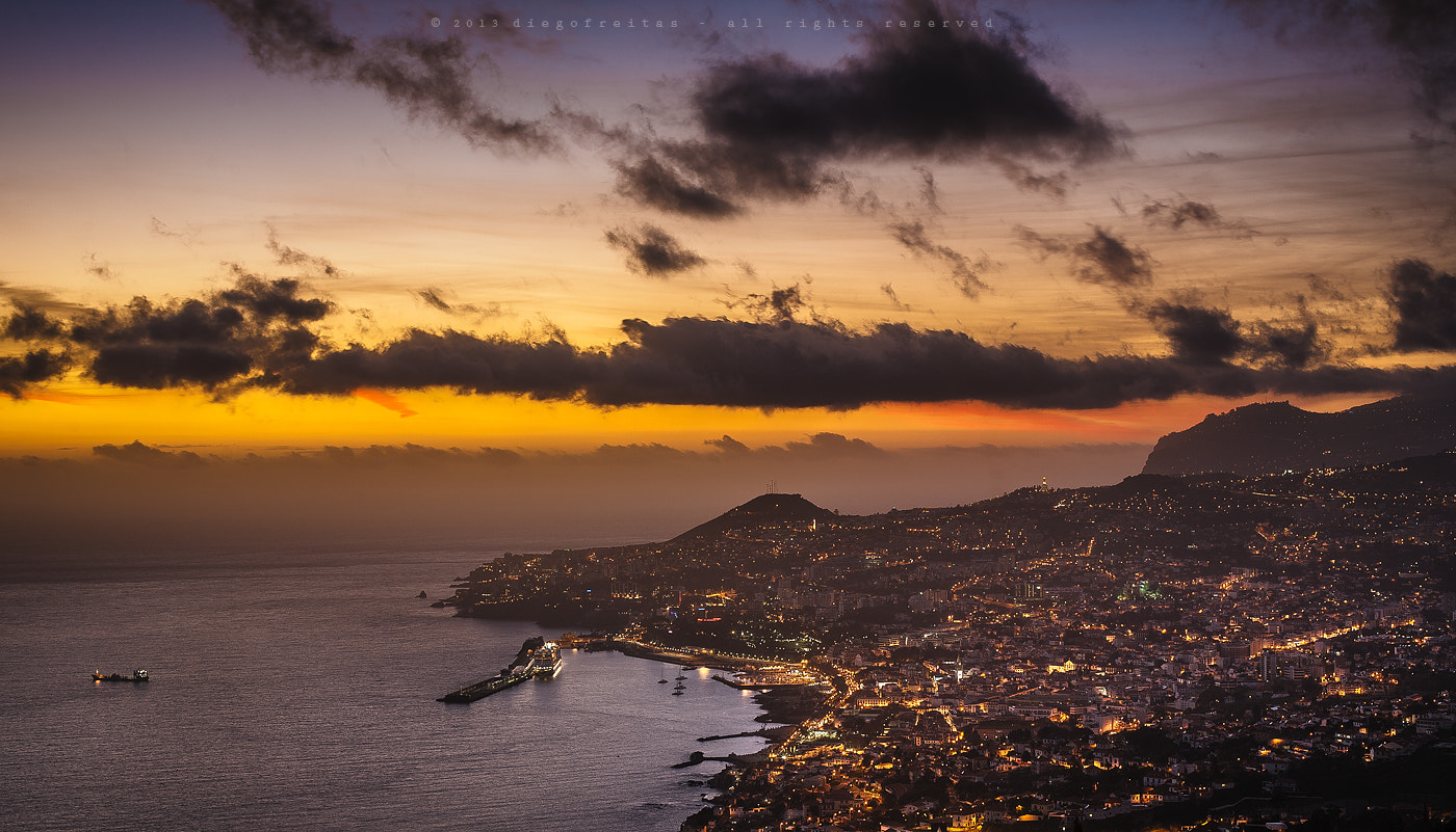 Photograph Sunset @ Funchal city bay by Diego Freitas on 500px