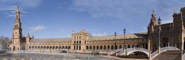 Photograph Plaza España (Sevilla) by Mike Trimol on 500px