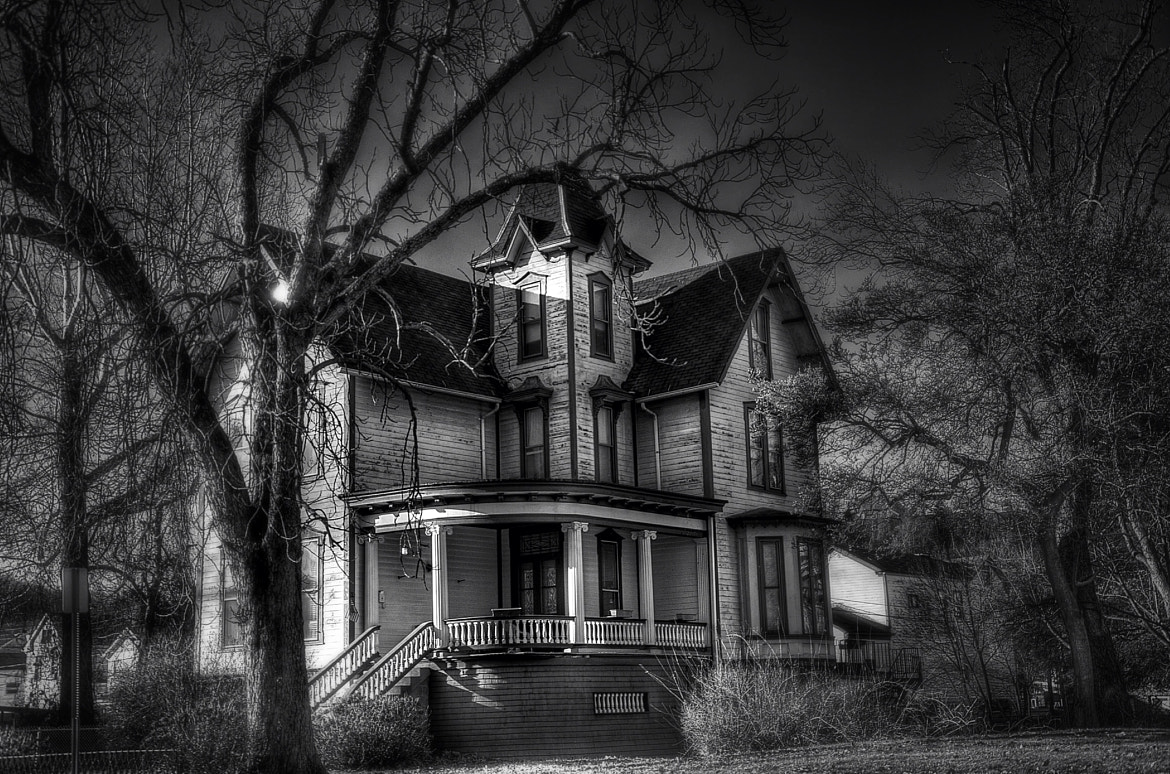 Photograph Spooky House HDR  by Jason Foose on 500px