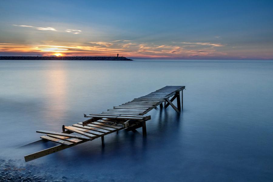 Wharf, автор — mustafa zengin на 500px.com