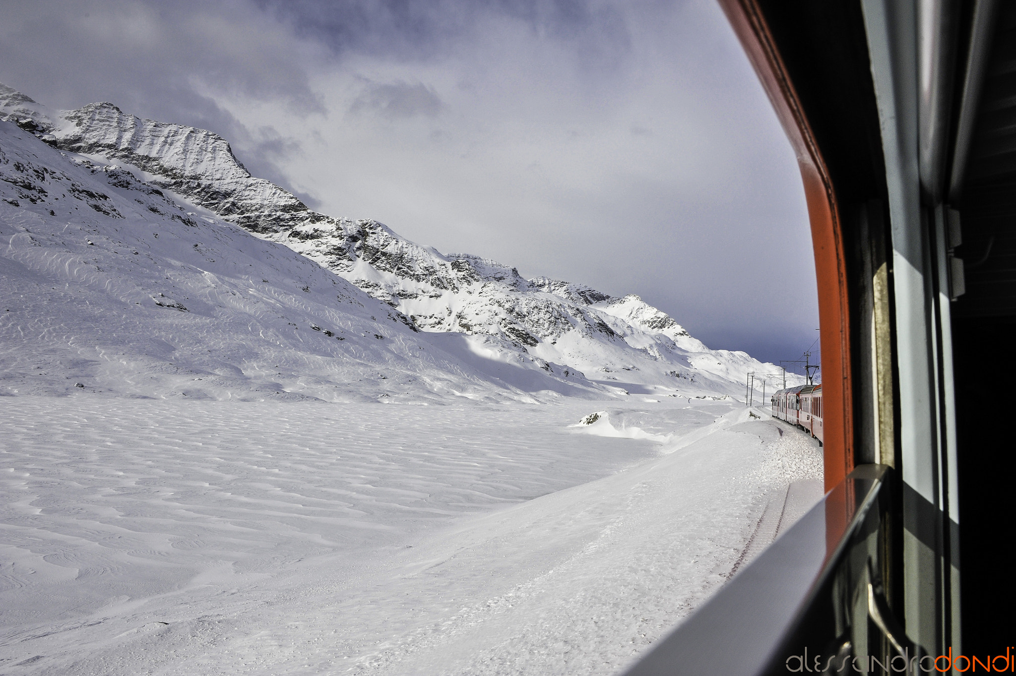Photograph red train by alessandro dondi on 500px