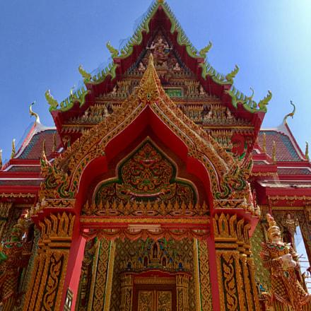 A beautiful Thai temple in Nakhon sawan province.