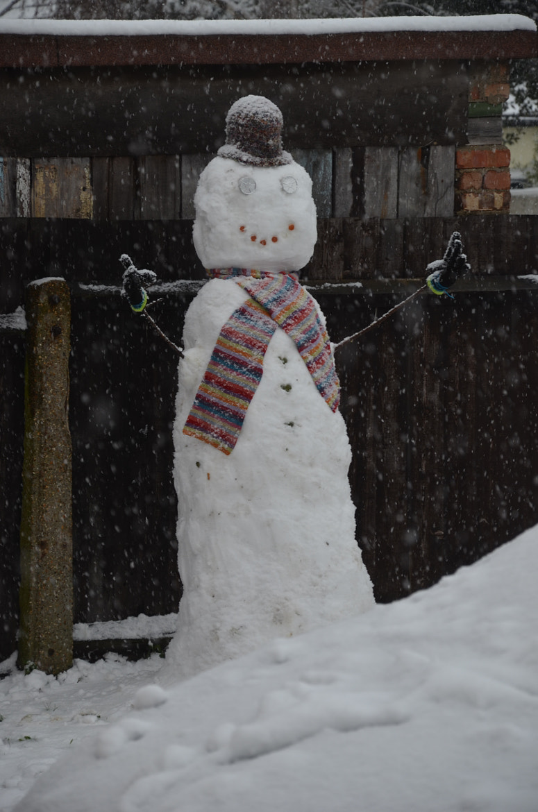 Photograph Snowman on Guard by Martyn Addison-Smith on 500px