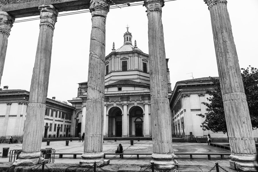Basilica di San Lorenzo, Milan by Dan Persa on 500px.com