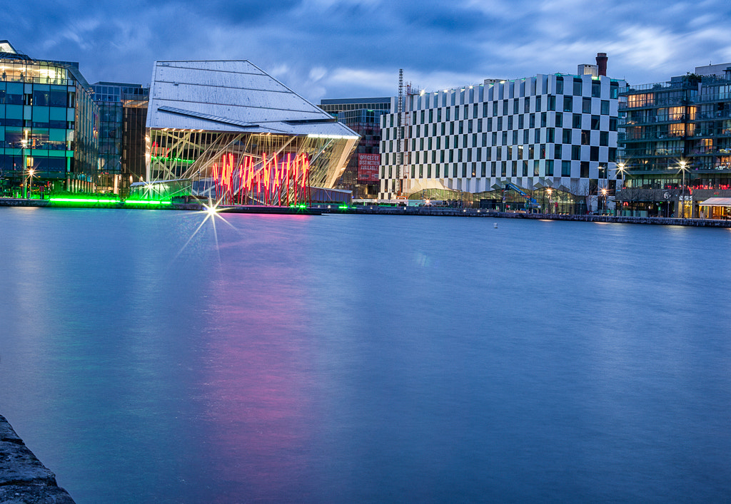 Photograph Grand Canal theatre dusk at dusk by Living Picture  on 500px