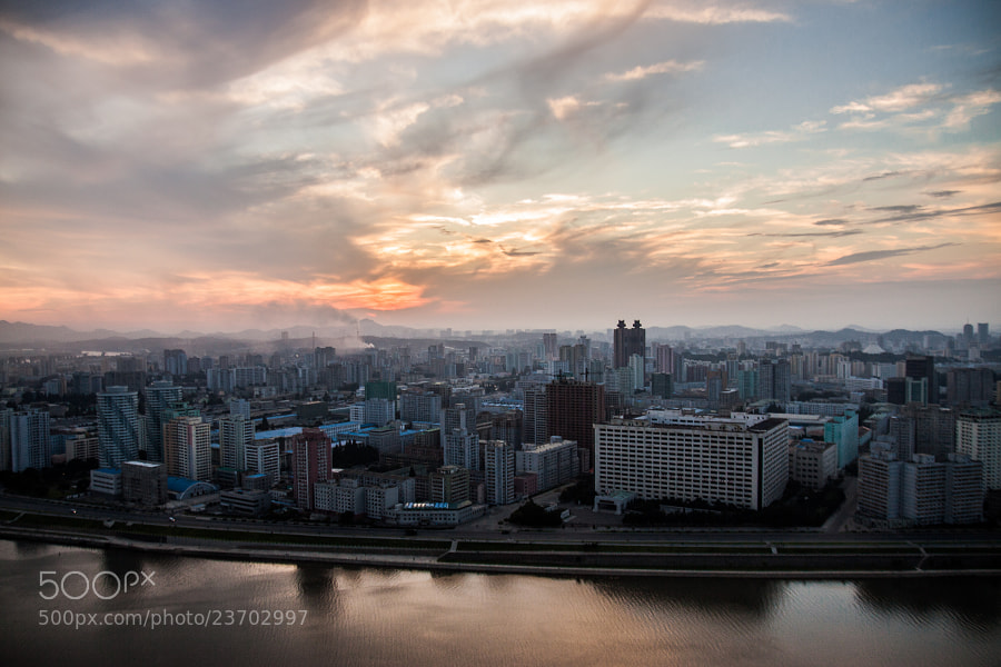 Photograph Pyongyang city view by Heran Guan on 500px