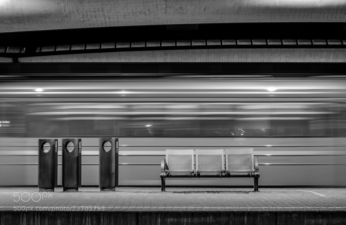 Photograph Late night train to Oslo by Gunnar Sommerfeldt on 500px