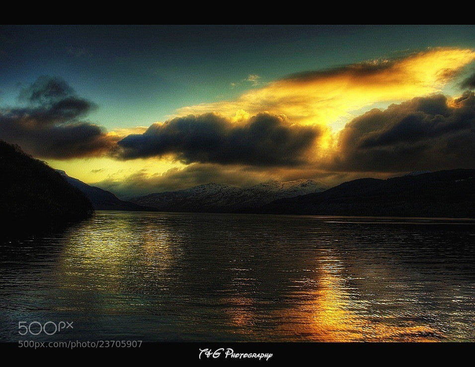 Photograph explosive sunset by T&G Photography  on 500px