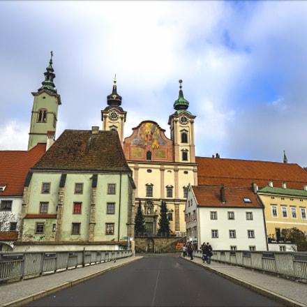 "Bridge to ""Steyrdorf"" & Michael's Church"