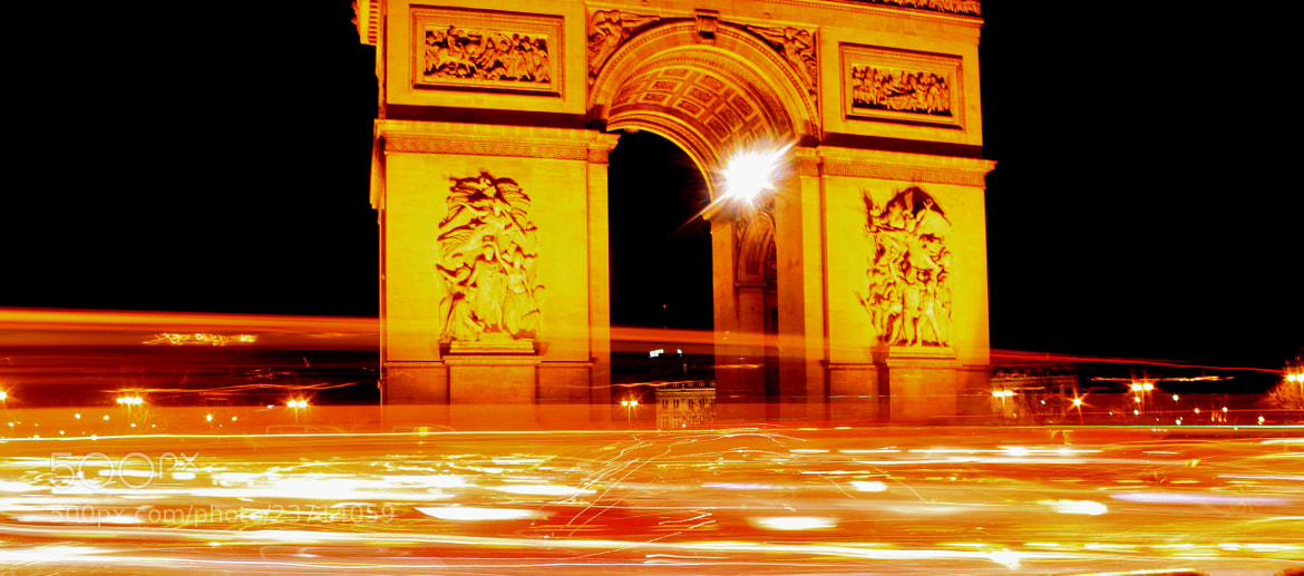 Photograph Arc de Triomphe by Ahmed Mahfouz on 500px