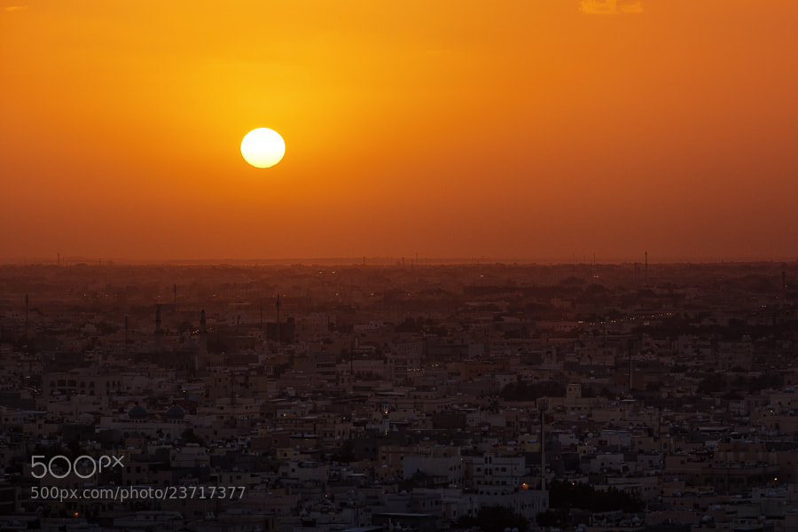Photograph Bahrain's Sunset II by Bruce Noronha on 500px
