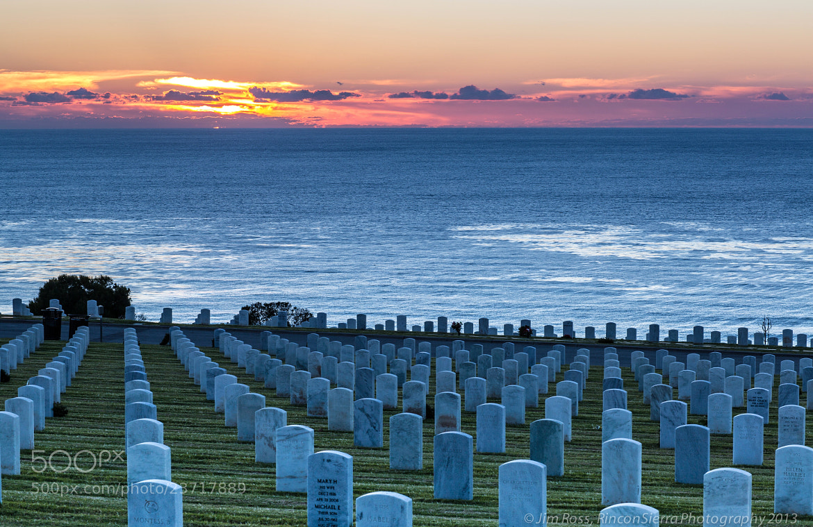 Photograph A Solemn Resting Place Sunset (part II) by Jim Ross on 500px