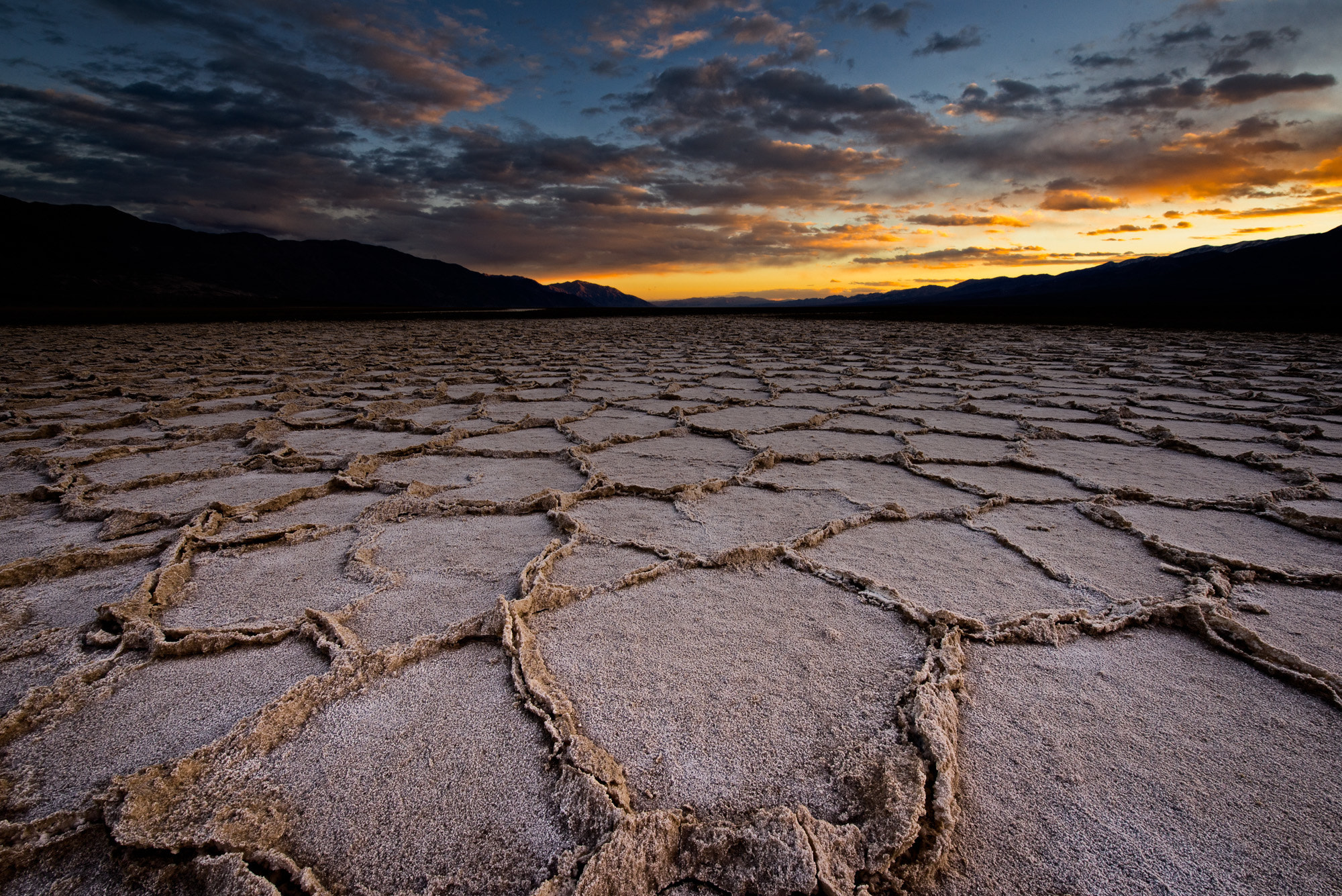 Photograph Badwater Sunset by Brian Bonham on 500px
