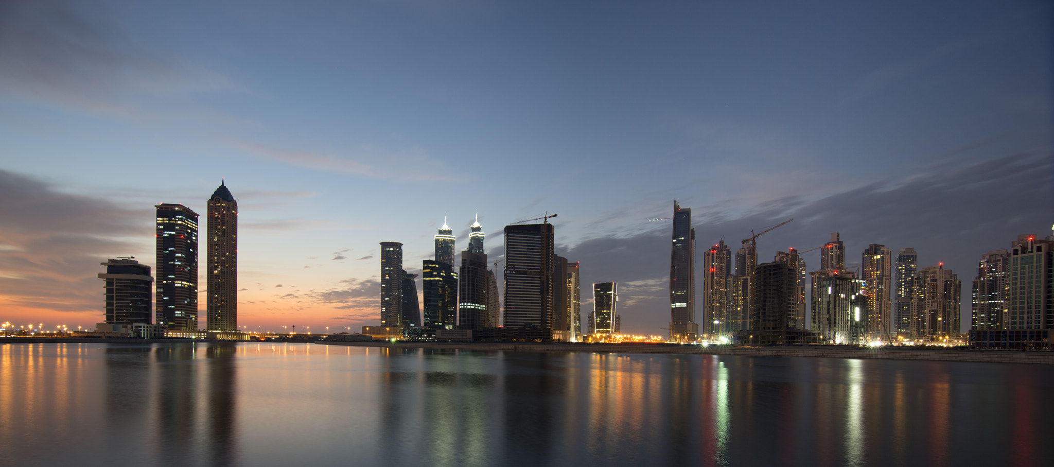 Photograph Sunset View Cityscape by WALID AHMAD on 500px
