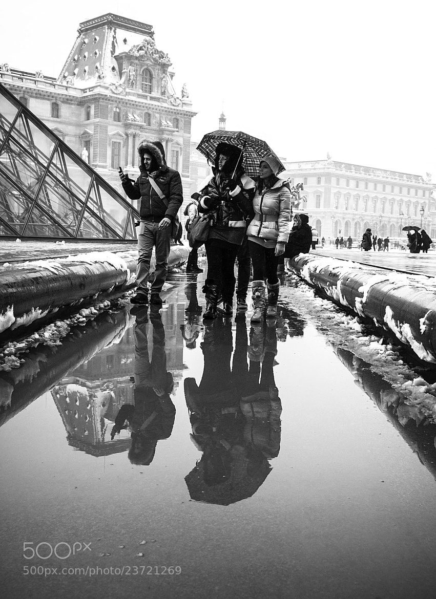 Photograph A cold day, at the Louvre. by Laurence Penne on 500px