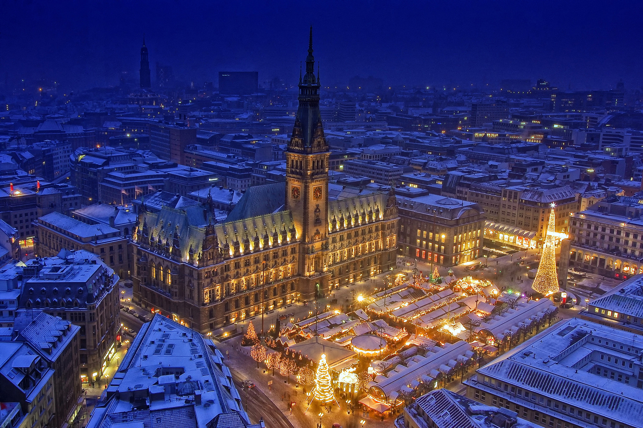 Photograph Hamburg Christmas Scenery by Dipta Nandana on 500px