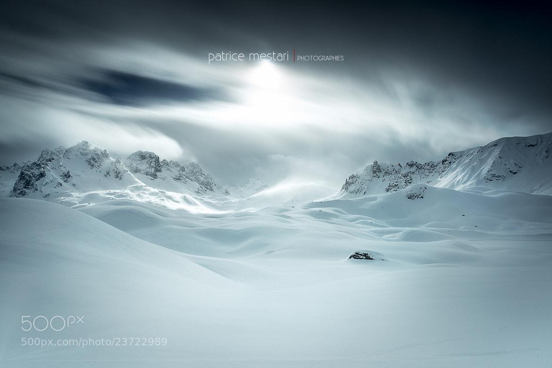 Photograph Ambiance féérique ce week-end - Massif de la Vanoise en direction des lacs Merlets by Patrice MESTARI on 500px