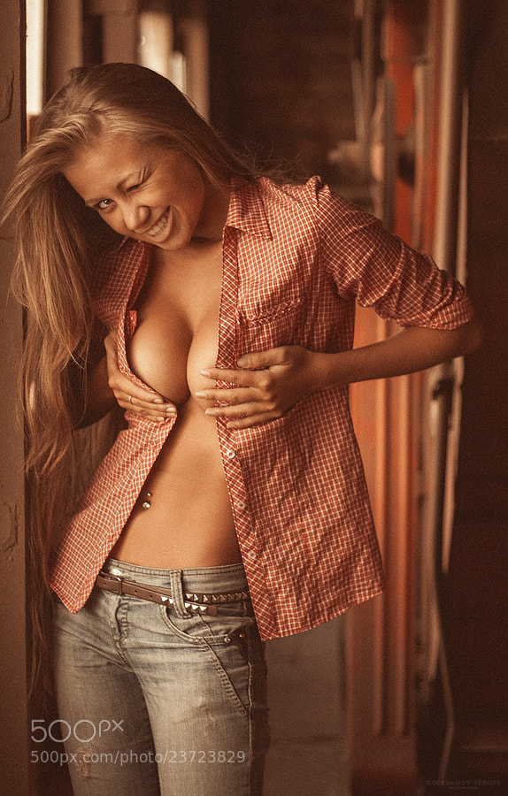 Photograph Alena by Sergey Koleganov on 500px