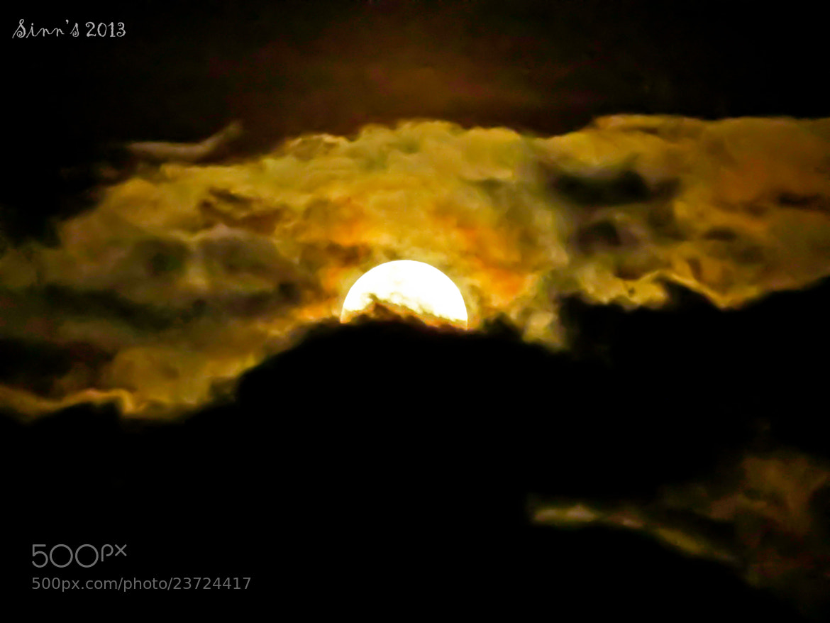 Photograph Hiding Moon by Sinu Nair on 500px