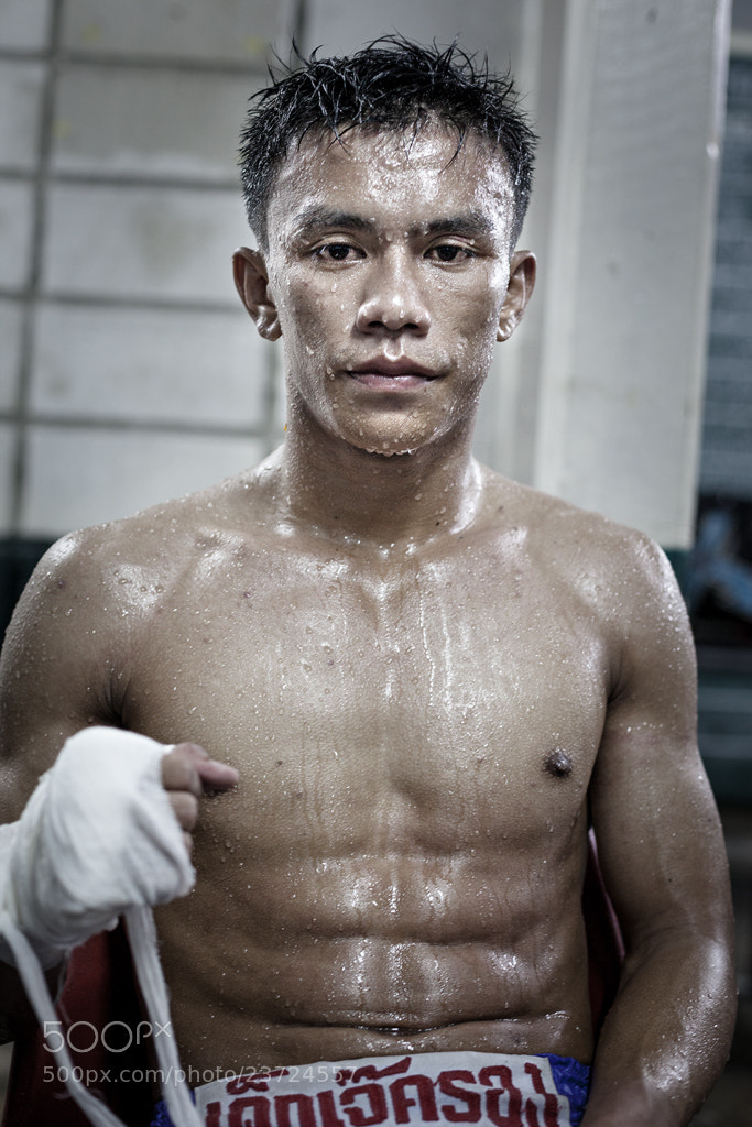 Photograph Defeated boxer, Bangkok   by Simon Byrne on 500px