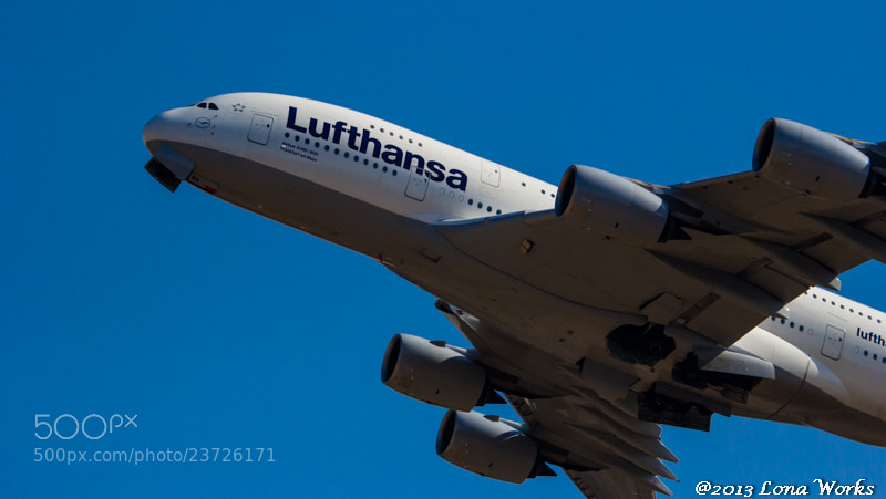 Photograph A380-800 Lufthansa by Tomoaki Kabe on 500px